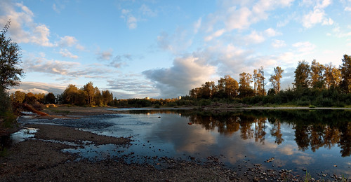 sky panorama reflection clouds river washington nuclear panoramic stitched coolingtowers satsop satsopriver satsopnuclearpowerplant