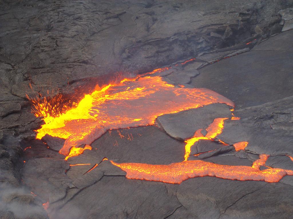 Lago de lava activo - Erta Ale (Danakil, Etiopía) - 01