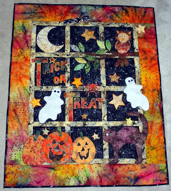 Halloween Quilting Ideas : Halloween quilt Flickr - Photo Sharing!