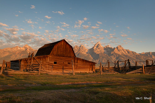 North Moulton and the Tetons