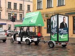 Zaļā reklāma Rīgas ielās 3