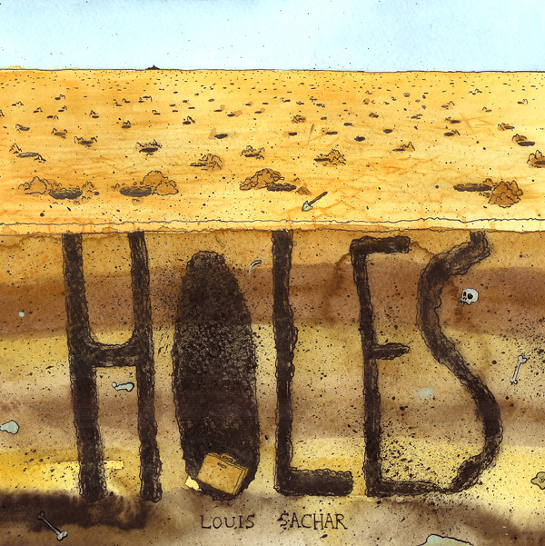 book report book holes louis sachar Holes: the book stanley yelnats is under a curse  - 1998 national book award for young people's literature  louis sachar shares the inspiration behind holes .