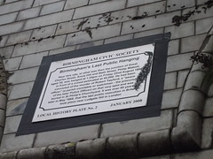 Photo of Philip Matsell white plaque