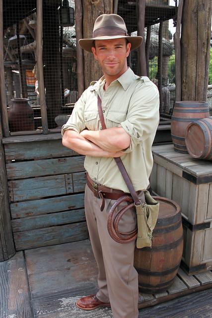 Meeting Indiana Jones!