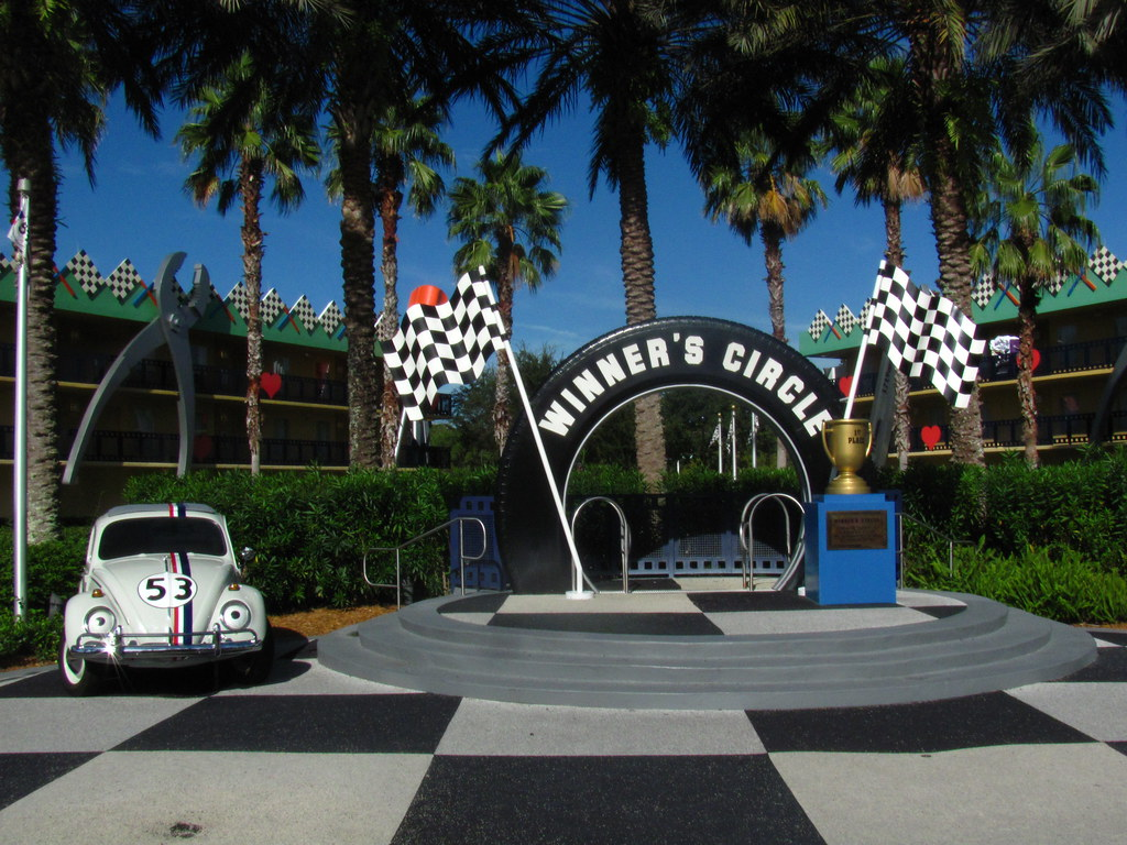 The Love Bug Section of Disney's All-Star Movies Resort
