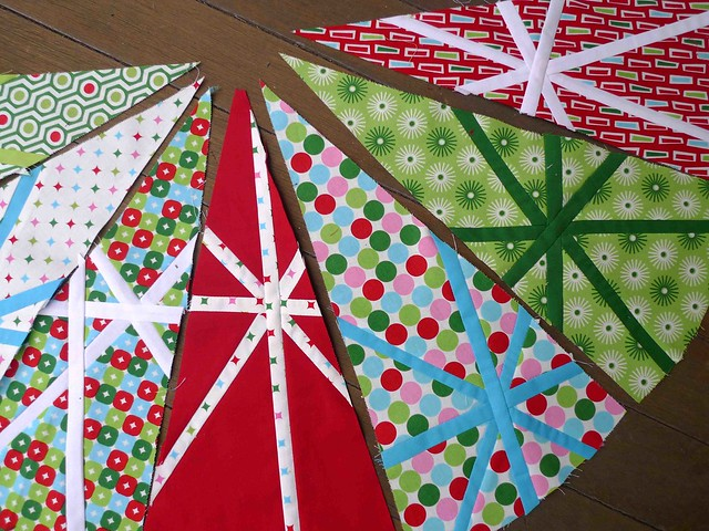 4. First Christmas Tree Skirt wedges