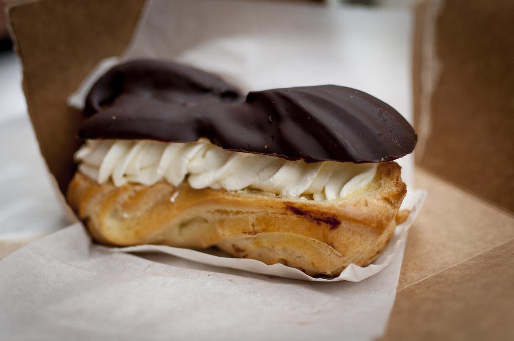 Banana Chocolate Puff Pastry Ring