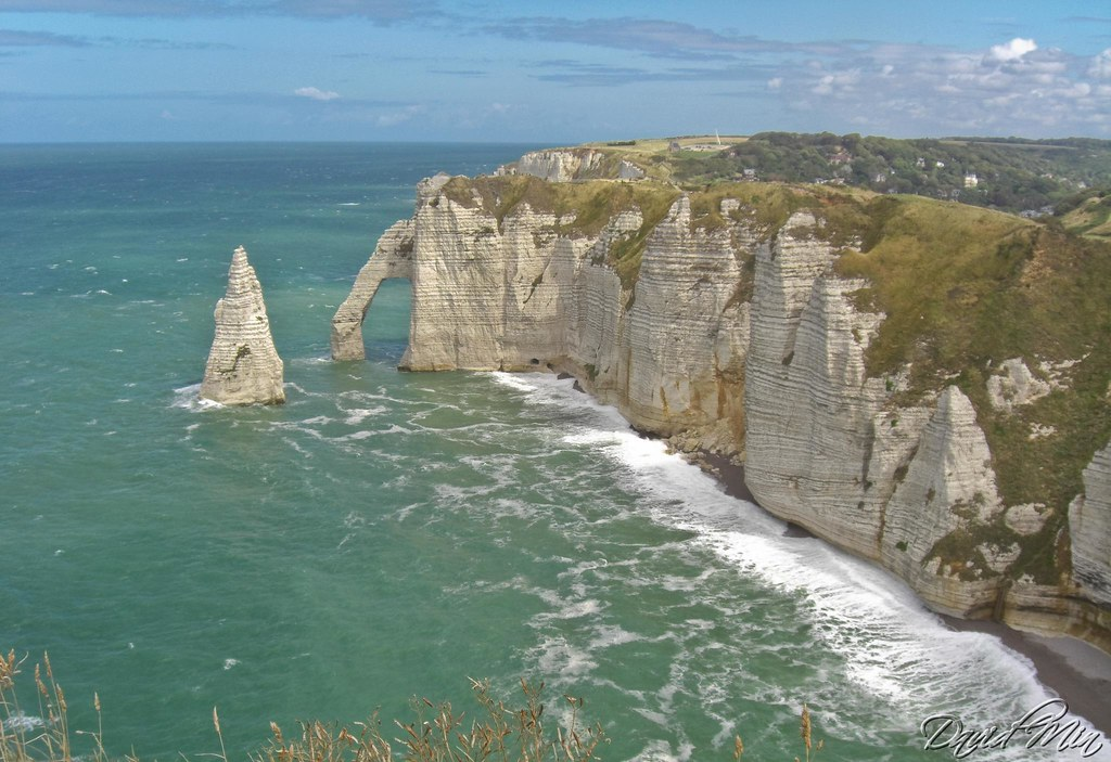 Etretat Natural Arch, France