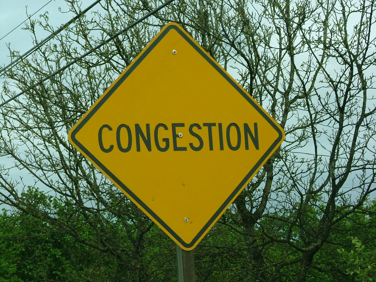 Congestion sign