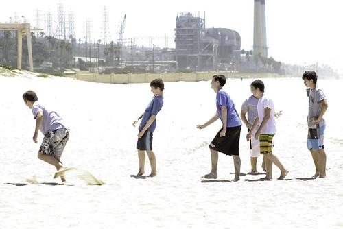 dockweiler beach boys by Karol Franks