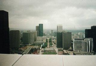 From the top of the Grand Arche