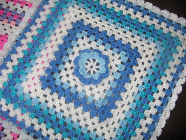 Crochet Pattern For Doll Blanket : crochet doll blanket Flickr - Photo Sharing!
