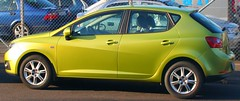 automobile, family car, supermini, vehicle, seat ibiza, land vehicle, hatchback,