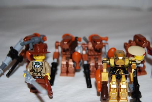 Meatpunk Enforcer Drones