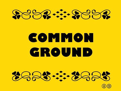 Buzzword Bingo: Common Ground