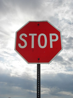Stop Sign by Kt Ann, via Flickr