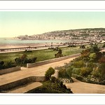 From south Weston-super-Mare England