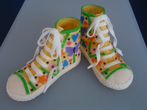 Tennis Converse Made of Fondant