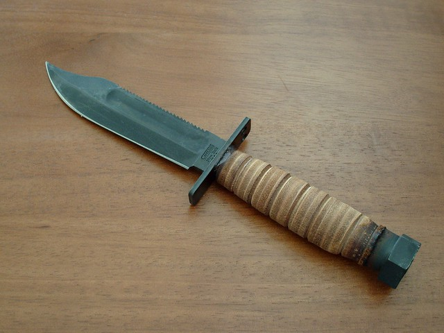 Camillus Air Force Survival Knife Flickr Photo Sharing