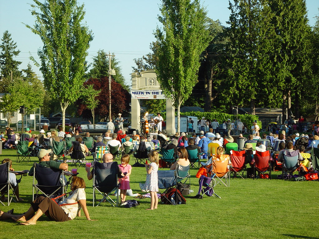 Burien Music in the Park, Thursdays thru August | This Week: The Black Crabs