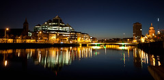 Dublin from the Docklands