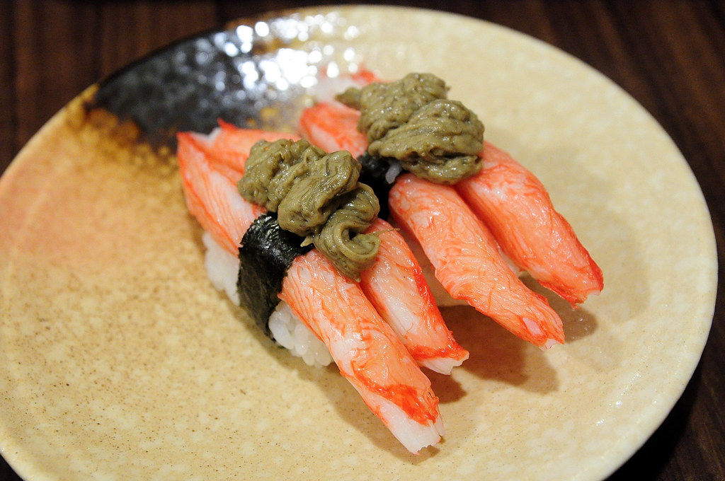 竹壽司-松葉蟹握壽司