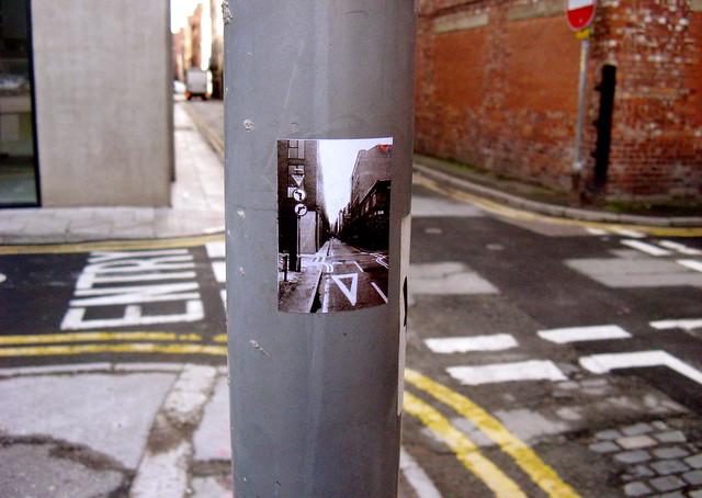 street scene within a street scene