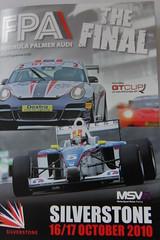 Formula Palmer Audi Championship Final.