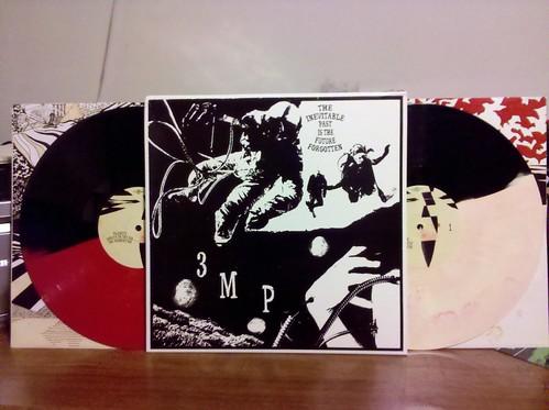 Three Mile Pilot - The Inevitable Past... 2xLP - Split Color Vinyl.