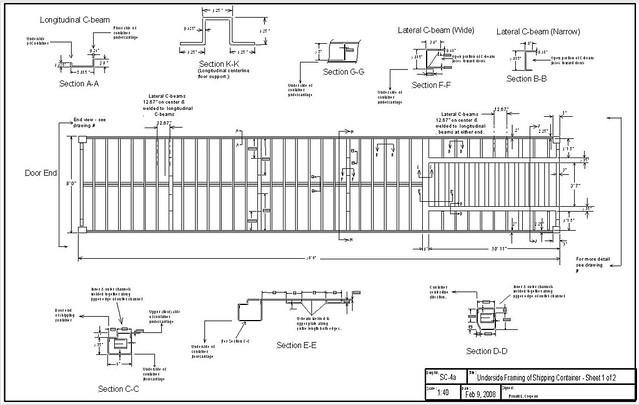 Container Dwg | Joy Studio Design Gallery - Best Design