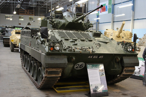 1987-Present British Warrior Infantry Fighting Vehicle