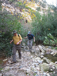 Walking in Avagas gorge