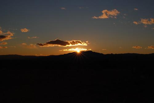 sunset usa lasvegas