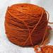 Malabrigo sock orange by Vaedri1