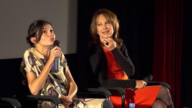 Audrey Tautou et Nathalie Baye - Avant première de De vrais mensonges au Gaumont Opéra Capucines - Paris