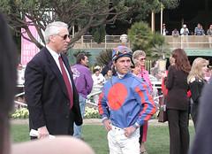 D. Wayne Lukas with Gary Stevens