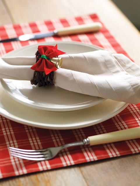 A creative project christmas table diy napkin rings