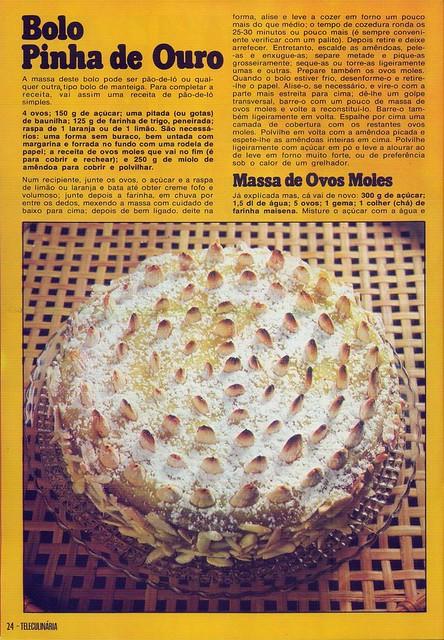 Tele Culinária e Doçaria, Especial Outono, Setembro 1980 - 22