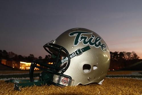 sunset walter college field j virginia stadium mary helmet william strap williamsburg tribe chin turf zable project365326
