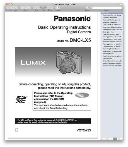 panasonic lx5 manual download the pdf now rh dpnotes com LX5 Engine LX5 Engine