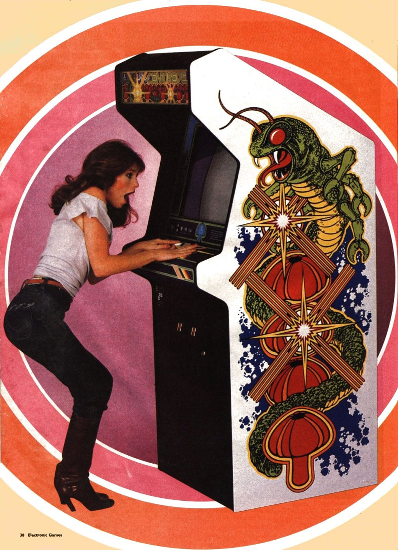 Centipede (1981) Retro Gaming Pinterest