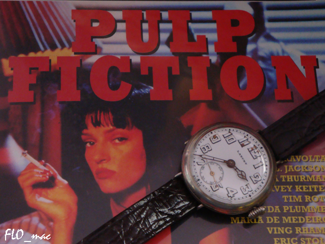 Which is the Pulp Fiction gold watch? A vintage Lancet trench ... Pulpfiction