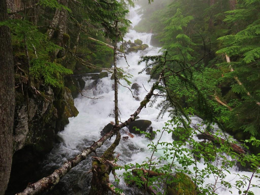 Linton Creek above Upper Linton Falls