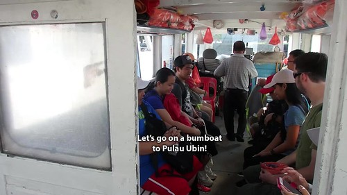 Let's take a bumboat to Pulau Ubin!