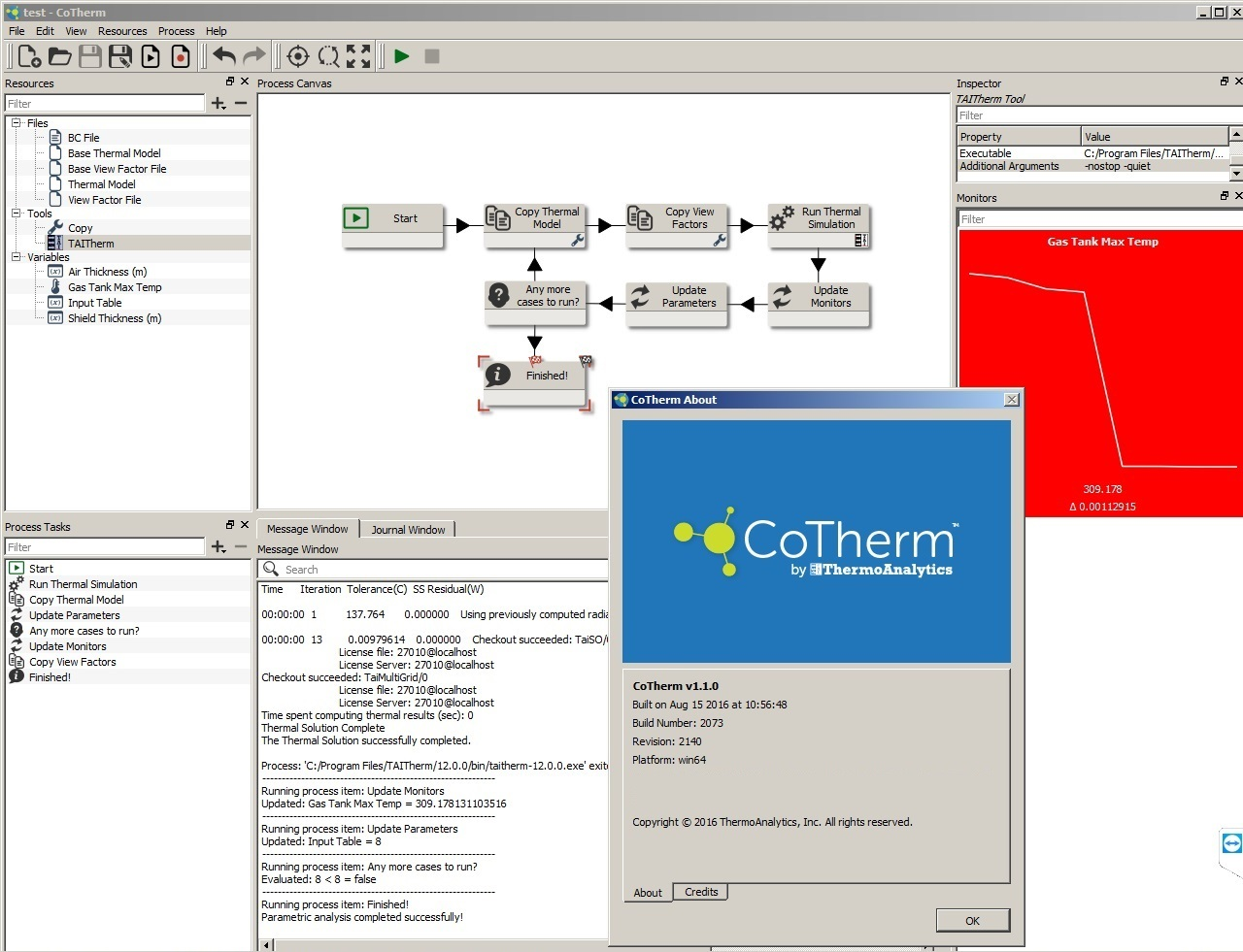 work with ThermoAnalytics CoTherm 1.1.0 Win-Linux FULL