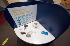 Atelier pédagogique sur les roches