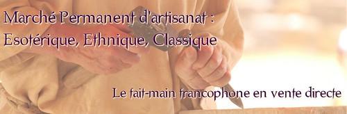 vente artisanat francophone