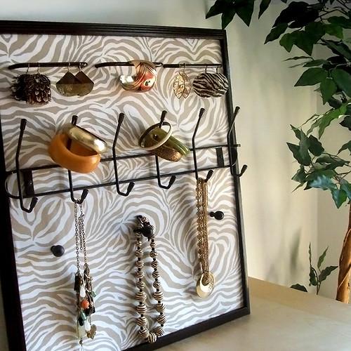 Sassy Khaki Jewelry Frame