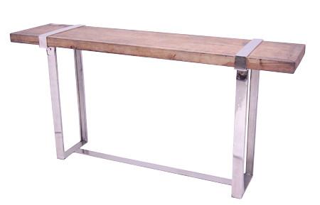 Sensational Reclaimed Teak Console Table Ckeinteriordesign Com Flickr Inzonedesignstudio Interior Chair Design Inzonedesignstudiocom
