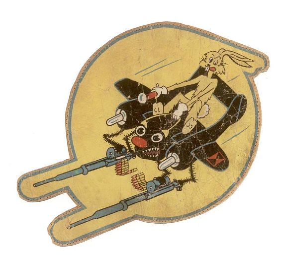 01- 425th NIGHT FIGHTER JACKET PATCH